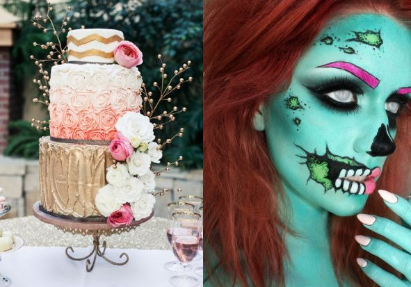 Pop Zombie and Wedding Cake