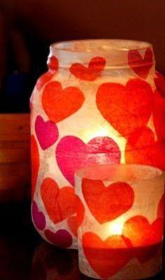 Valentines jar
